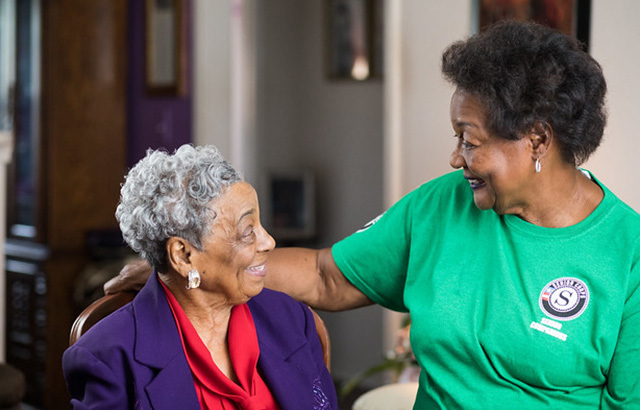 Senior Corps programs such as Senior Companions provide services that help prevent elder fraud and abuse.