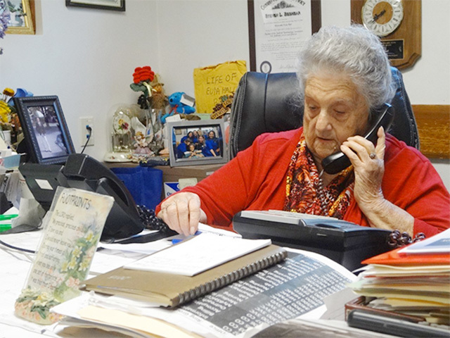 VISTA alumna Eula Hall, 91, still goes to the Health Center she helped start in the 1970s to serve her rural Kentucky community.
