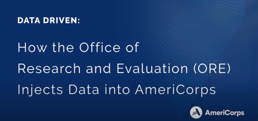 ORE Data-Driven mission video slide