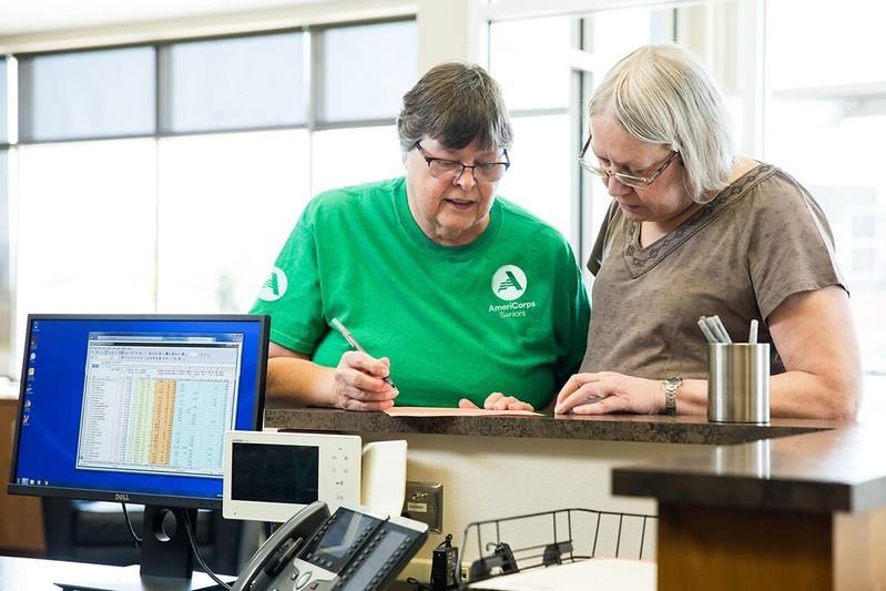 AmeriCorps Seniors' Senior Companion Volunteers
