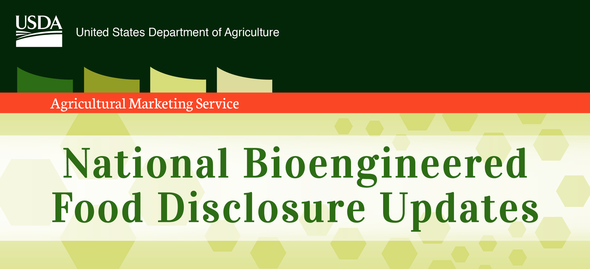 National Bioengineered Food Disclosure Law