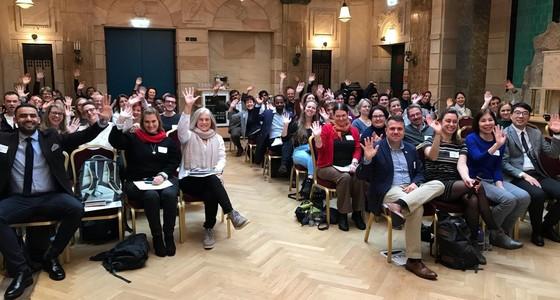 Certifiers and NOP staff wave to say hello in Nurnberg Germany