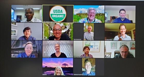 NOSB spring 2020 virtual meeting