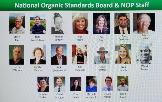 2021 NOSB Members and NOP Staff