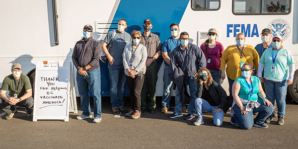 APHIS employees support COVID-19 vaccination efforts around the country.