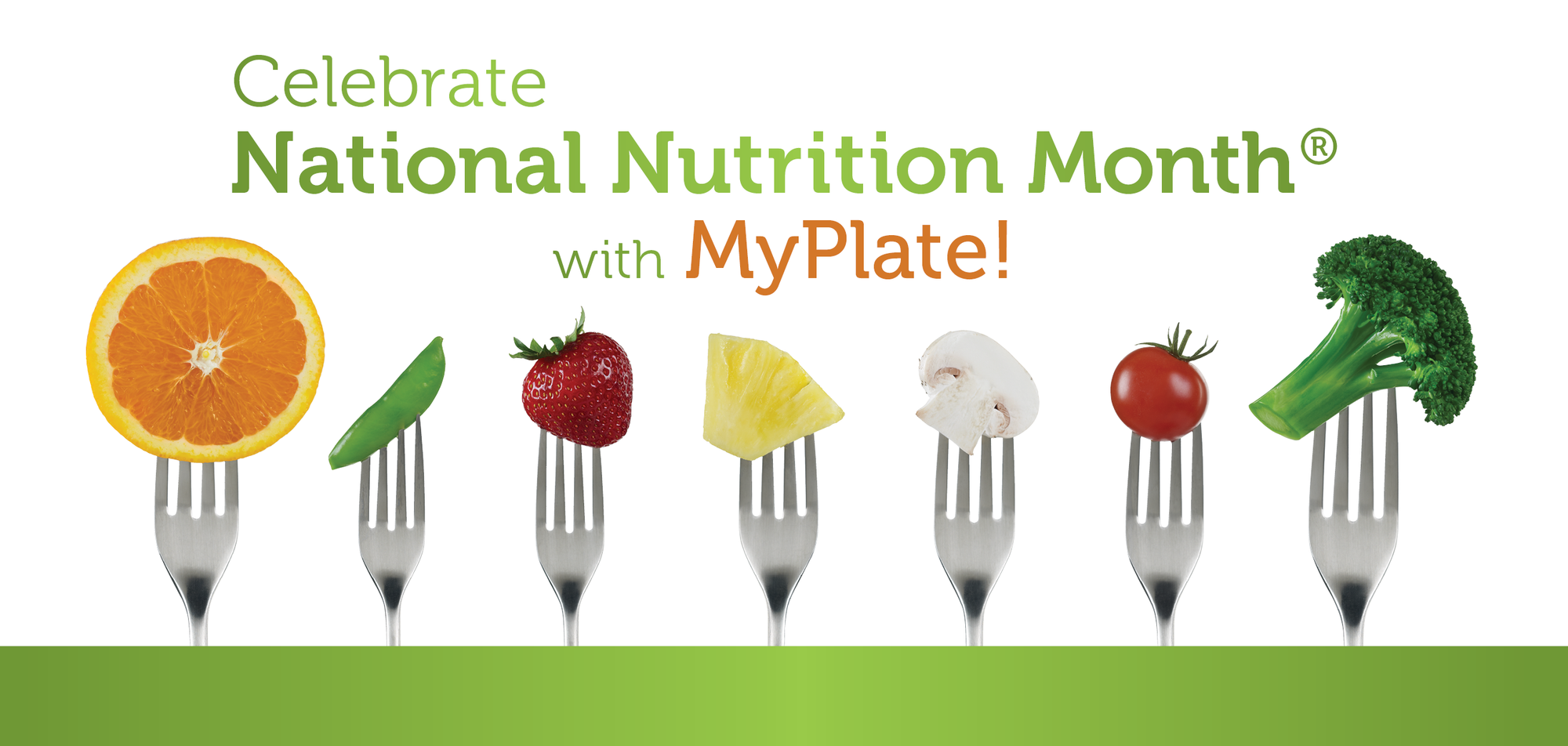 Celebrate National Nutrition Month With Myplate