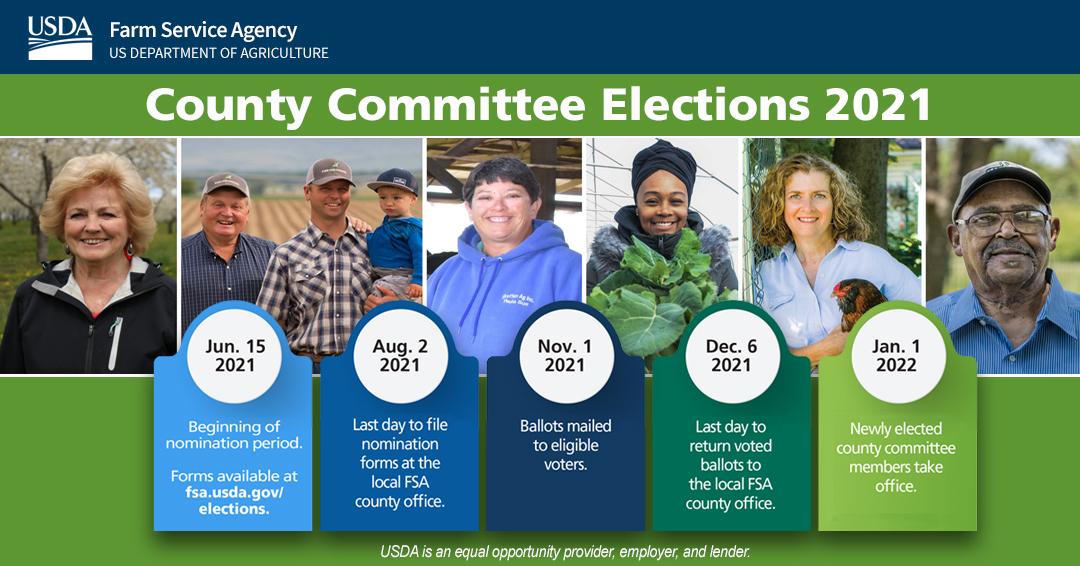 2021 COC Election Schedule