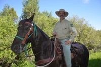 Greg Hanson, Rangeland Management Specialist on the Palisades Ranger District of the Caribou-Targhee National Forest