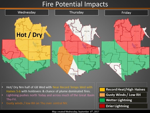 Fire Impact Map
