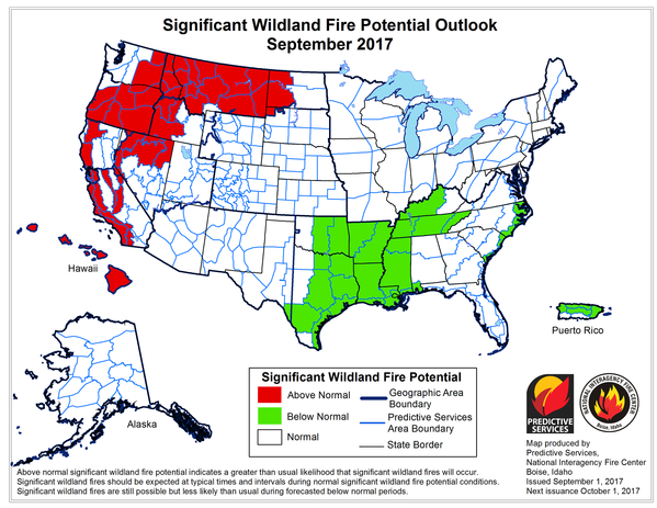 Fire Monthly Outlook