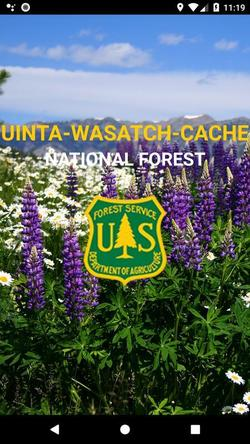 Uinta-Wasatch-Cache National Forest app