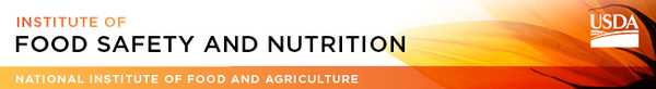 NIFA Insitute of Food Safety and Nutrition banner image