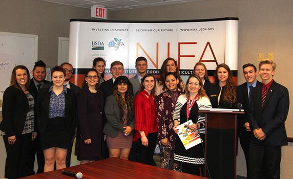 National 4-H Conference Members Visit NIFA