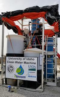 University of Idaho Clean Water Machine