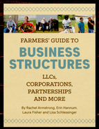 Farmers' Guide to Business Structures book cover image