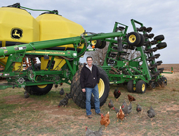 "Gary Hula is committed to ""never turning another clod."" Photo by Robert Hathorne, NRCS"