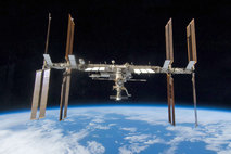 Image of the International Space Station courtesy of NASA Marshall Space Flight Center, Flickr.