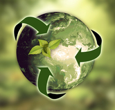 Earth and nature sustainability graphic, courtesy of Pixabay.