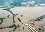 Nebraska flood. USDA photo. USDA NIFA Impacts