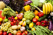 Fruits and vegetables. Photo courtesy of iStock. USDA NIFA Fresh From the Field. NIFA Impacts.