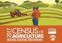 2017 Census of Agriculture graphic image.