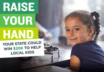 4-H Raise Your Hand graphic image.