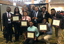 Prairie View A&M University's students and faculty at the ARD Symposium.