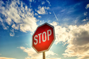 Adobe Stock . Red Stop sign-17/77239822. USDA NIFA Fresh From the Field.