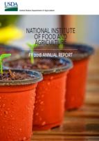 NIFA 2018 Annual Report cover image.