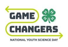 4-H National Youth Science Day Game Changers graphic
