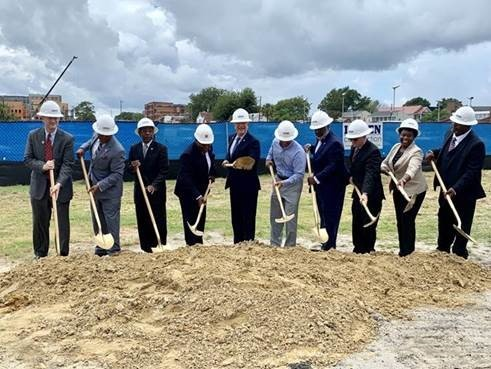 SC State University officials break ground for a new 1890 Research and Extension building. Image courtesy of SC State University.
