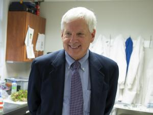 Photo of Dr. Angle by Tyler Jones, IFAS, courtesy of University of Florida.
