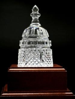 NIFA Hall of Fame trophy