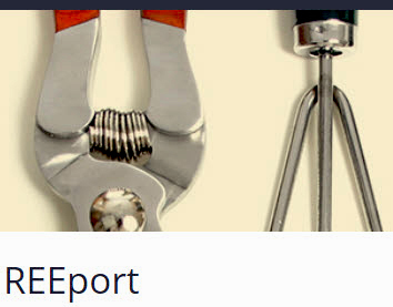 NIFA REEport webpage image
