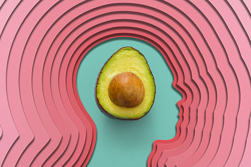 Avocado graphic by Michael Vincent.