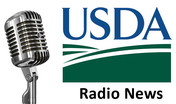 USDA news radio graphic