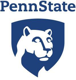 Penn State University graphic logo