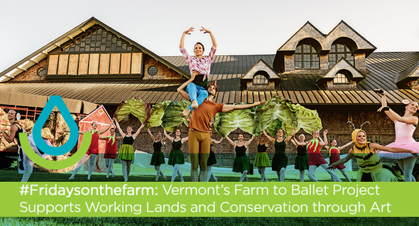 #Fridaysonthefarm: Vermont's Farm to Ballet Project Supports Working Lands and Conservation through Art
