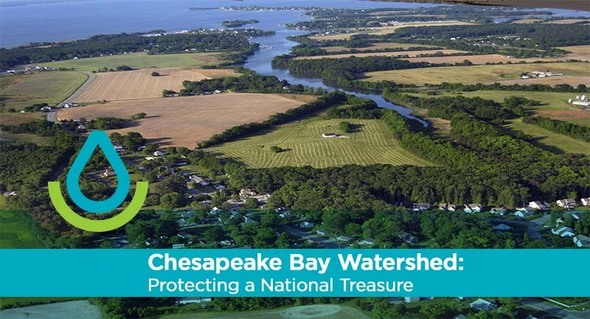 Chesapeake Bay Watershed graphic