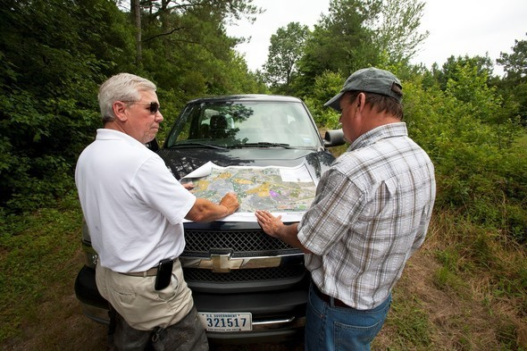 Conservation plan on truck hood