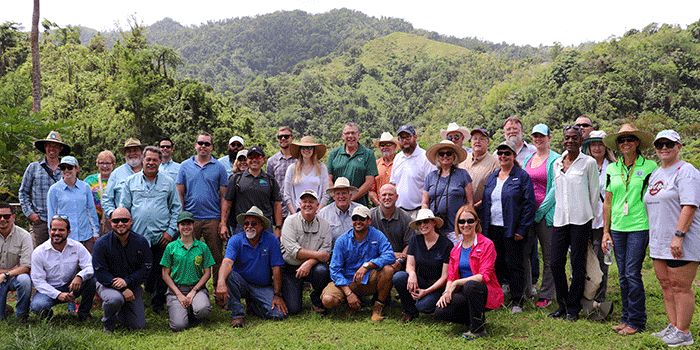 NACD Forestry Resource Policy Group visits Cafe Roig on 19 June 2019_photo by USDA Forest Service-IITF_YSM