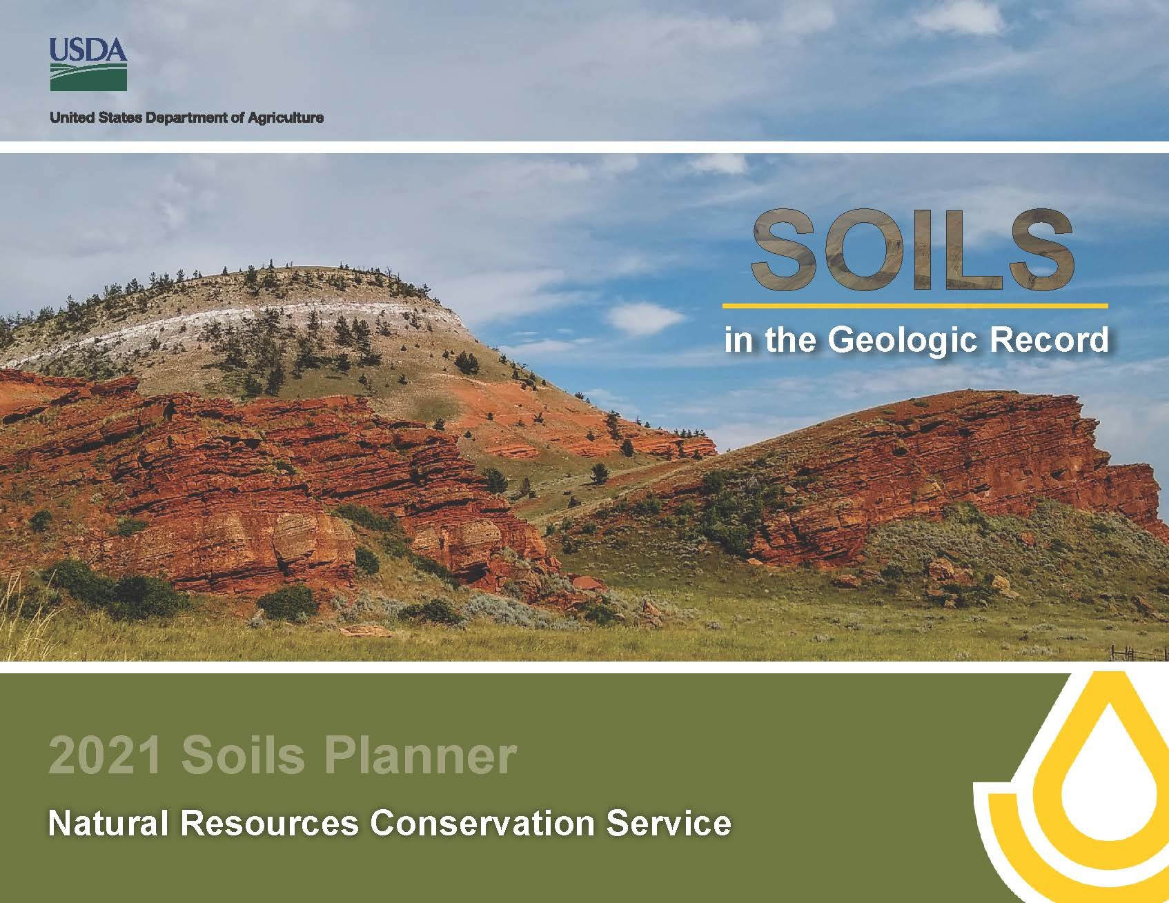 Image of 2021 Soils Planner Cover