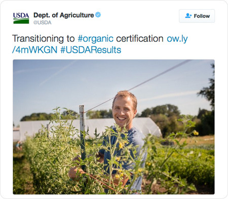 Transitioning to #organic certification http://ow.ly/4mWKGN  #USDAResults