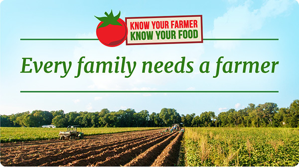 Every family needs a farmer home page image (farmers working on a farm)