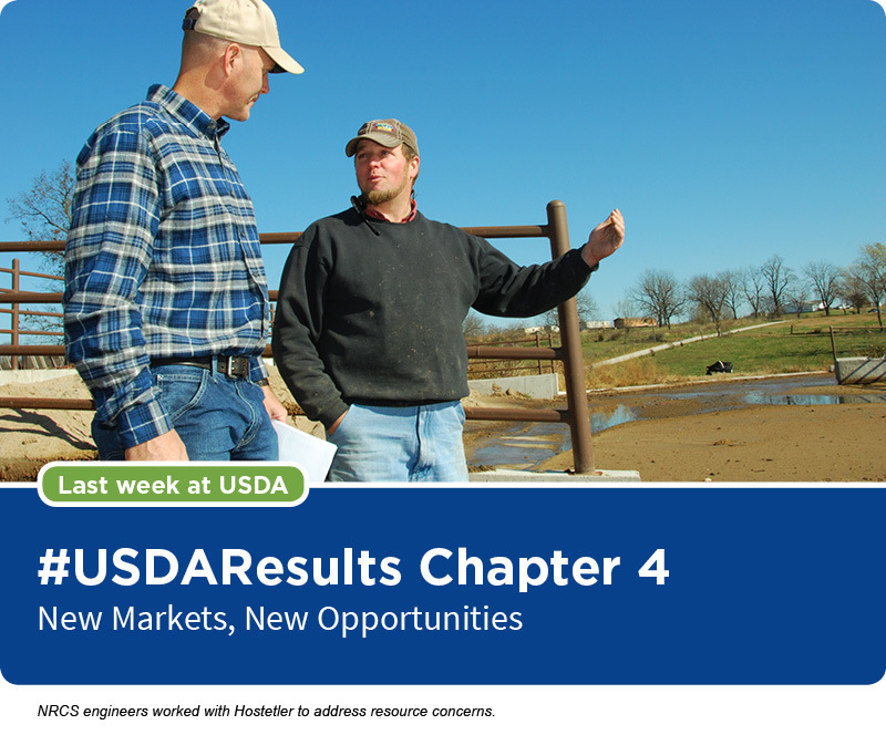 NRCS engineers worked with Hostetler to address resource concerns.