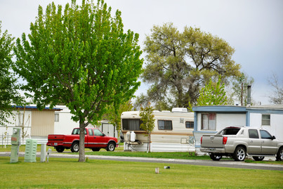 Photo: Bella Vista Mobile Home Cooperative in Boardman, Oregon