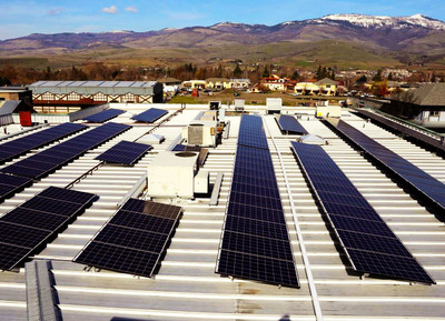 Photo: Ashland Food Co-op installed new rooftop solar panels with help from USDA