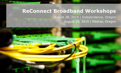 Oregon ReConnect Broadband Workshops