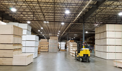 Precision Prefinishing replaced its facility's lighting with high-efficiency LEDs