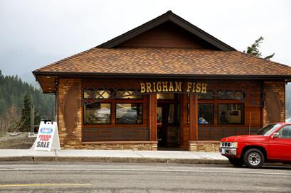 Brigham Fish Market in Cascade Locks was an Intermediary Relending Program ultimate recipient